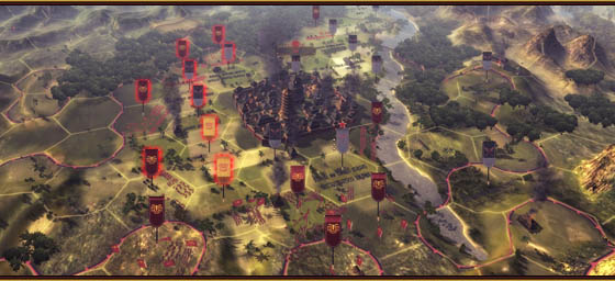 Oriental empires this extremely deep strategy game includes both an historic scenario on a realistic period map of china and skirmish style scenarios on random or user gumiabroncs